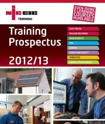 Training prospectus front cover