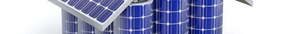 Solar home battery concept