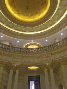 The royal palace of Sheikh Al Thani in Doha