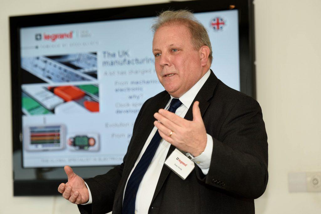 Tony Greig of Legrand