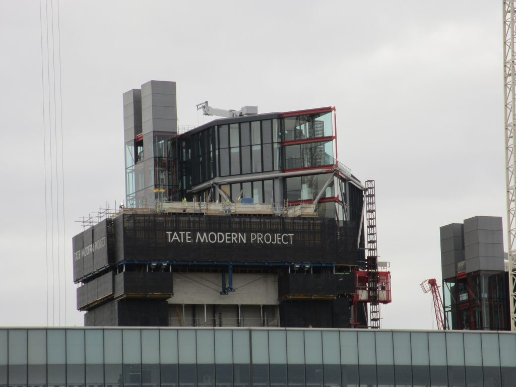 The building is designed to reflect Tate Modern's global standing as a curator of modern art
