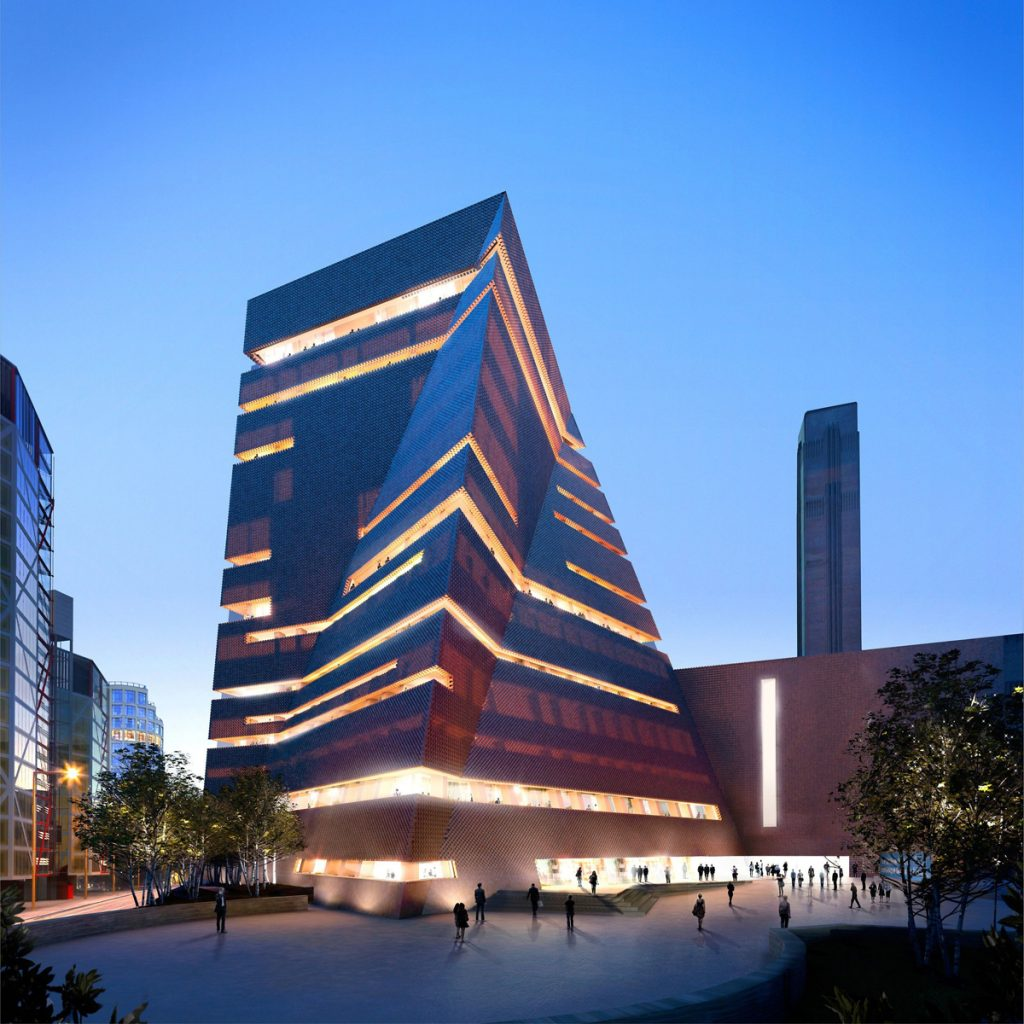 Tate 2 was designed by globally renowned architectural practice Herzog & de Meuron