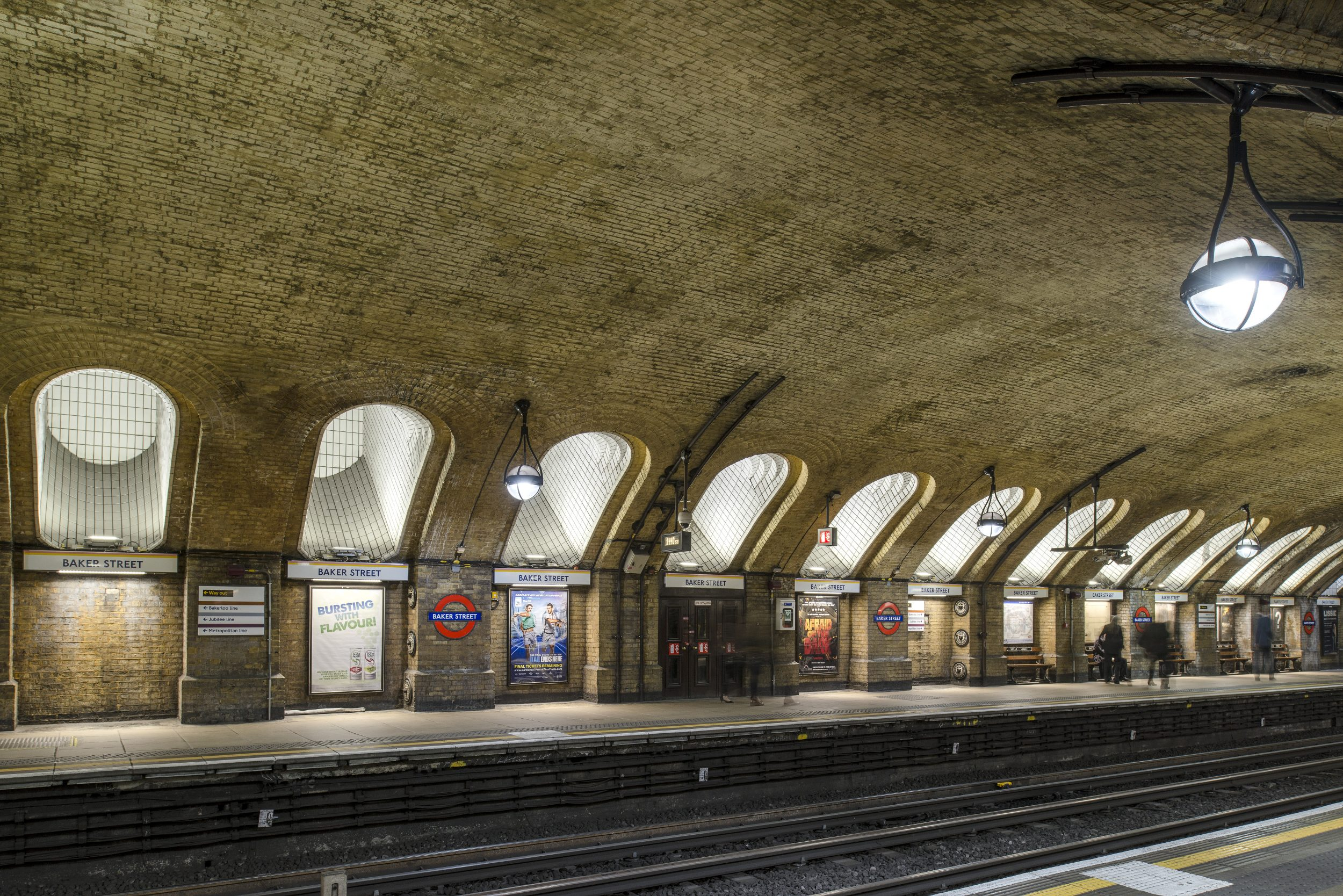Goodlight products have been installed in tube and rail stations - Credit, Nick Adams