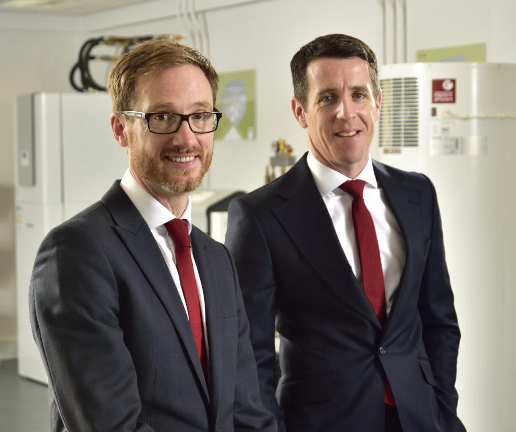 Managing director Mark McManus (right) and head of Technical John Felgate