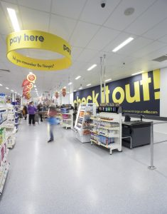 Energy savings of up to 60% have been achieved on the sales floor