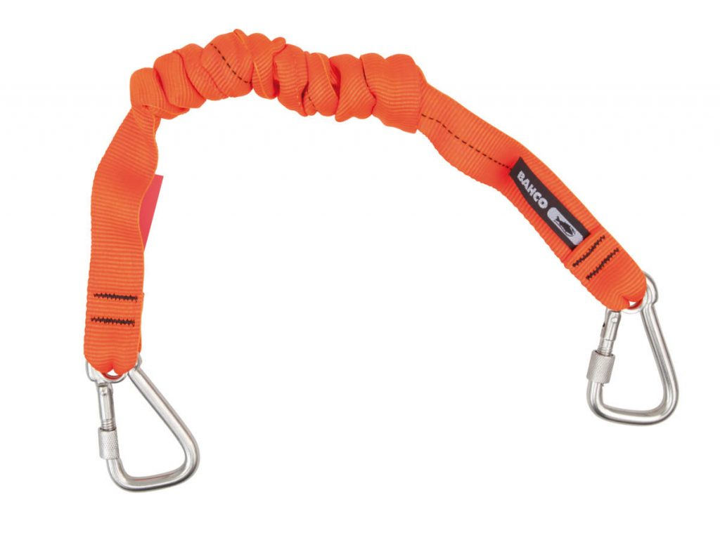 A heavy duty Bahco lanyard from its Tools at Height range.