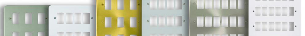 Gridpro is an extensive new range of interchangeable mounting plates and modules