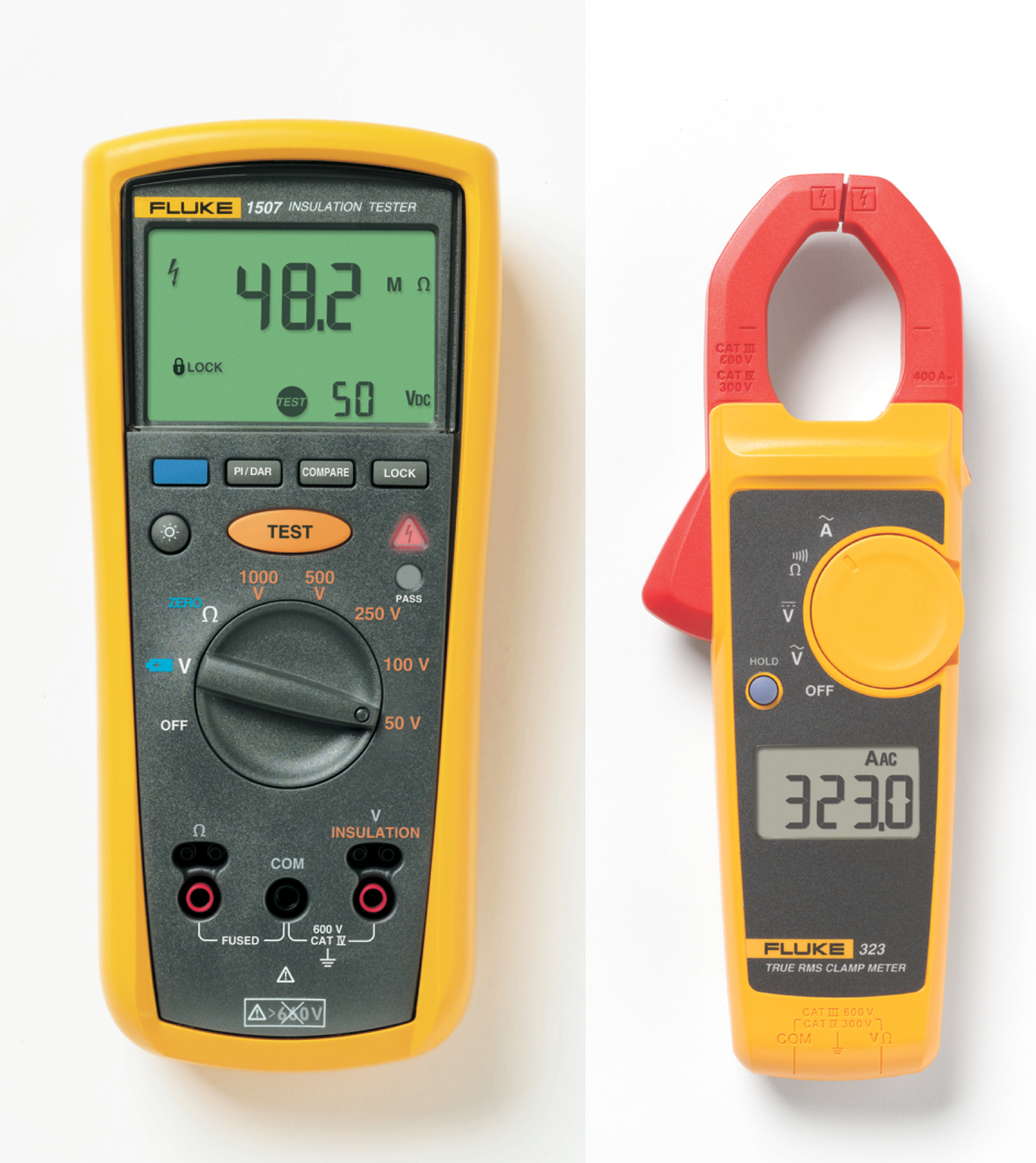 fluke-1507-insulation-tester-plus-free-fluke-323-clamp-meter