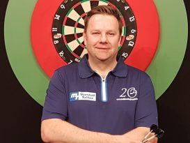Take on top darts player Mark Dudbridge at ED&I