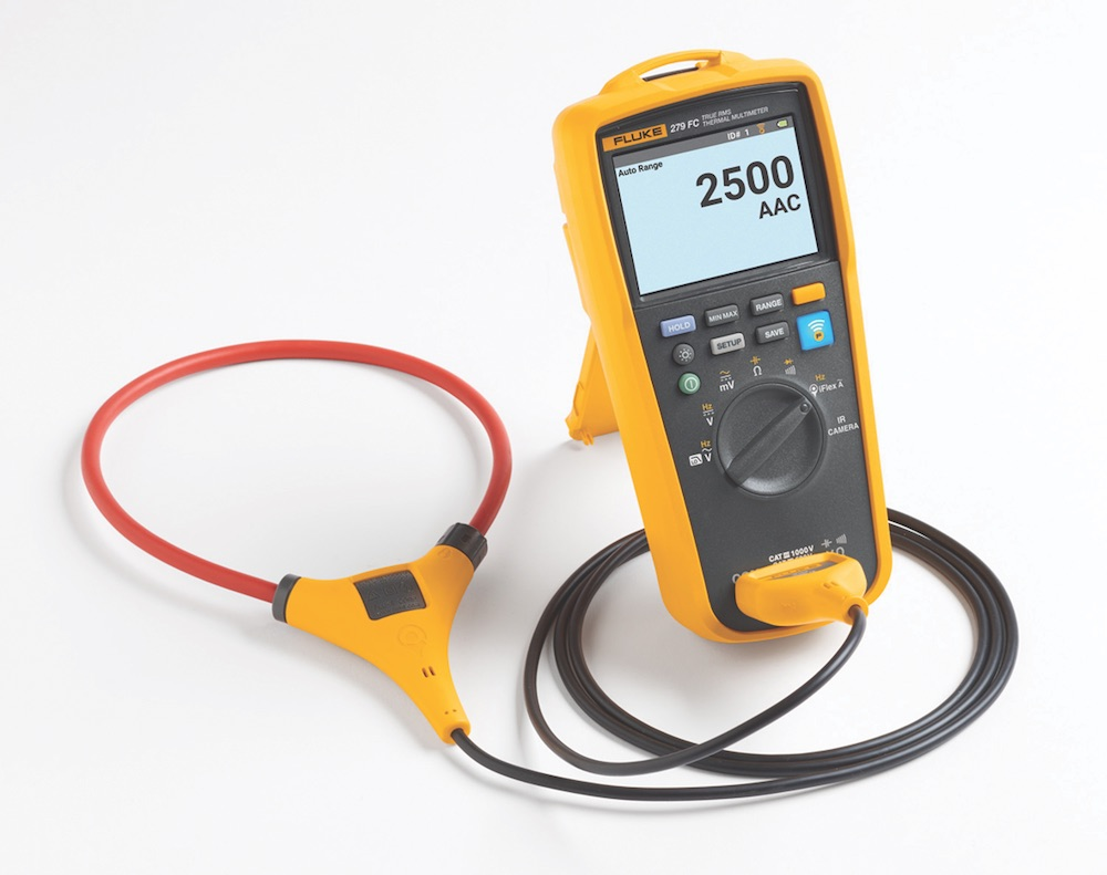 Current Probe For Multimeter : Fluke adds flexible current probe to fc trms
